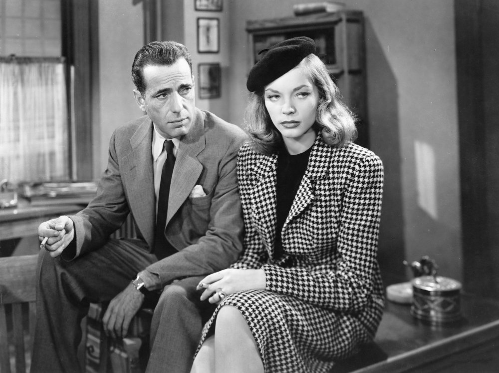 Humphrey Bogart and Lauren Bacall in The Big Sleep (1946), co-written by 'this guy Brackett'