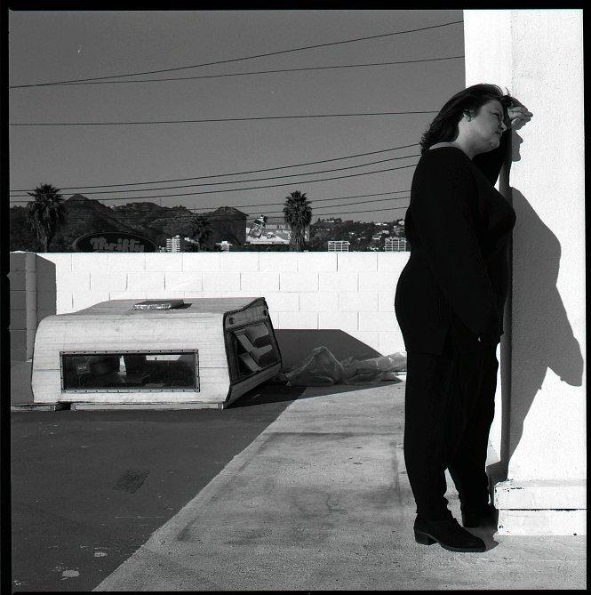 Antonia Bird at Studio 7070 in Los Angeles in 1995