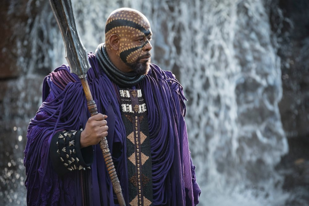 John Kane as King T'Chaka