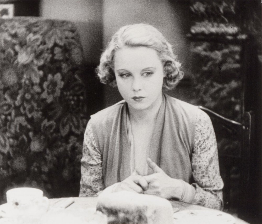 Anny Ondra in Blackmail