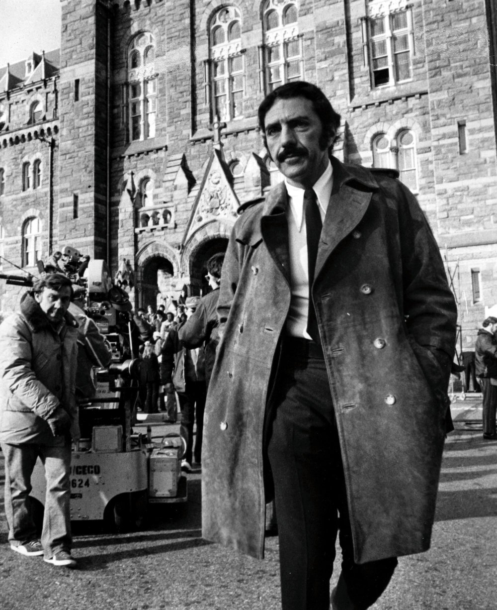 William Peter Blatty on the Georgetown University location of The Exorcist (1973)