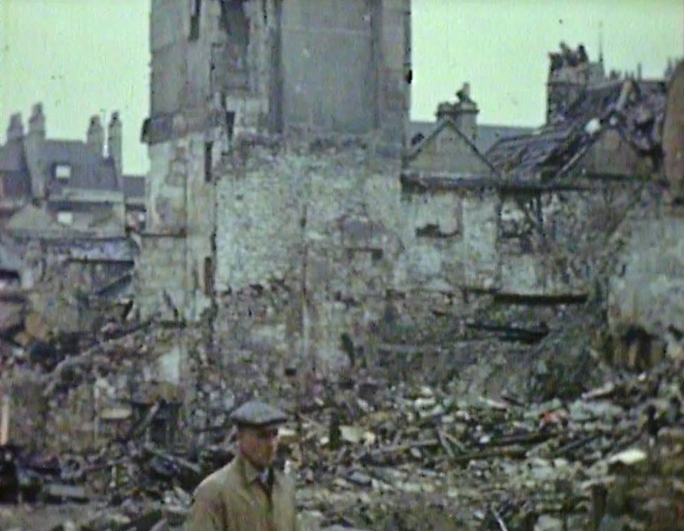 The Blitzed Cities of Bristol and Bath (1942)
