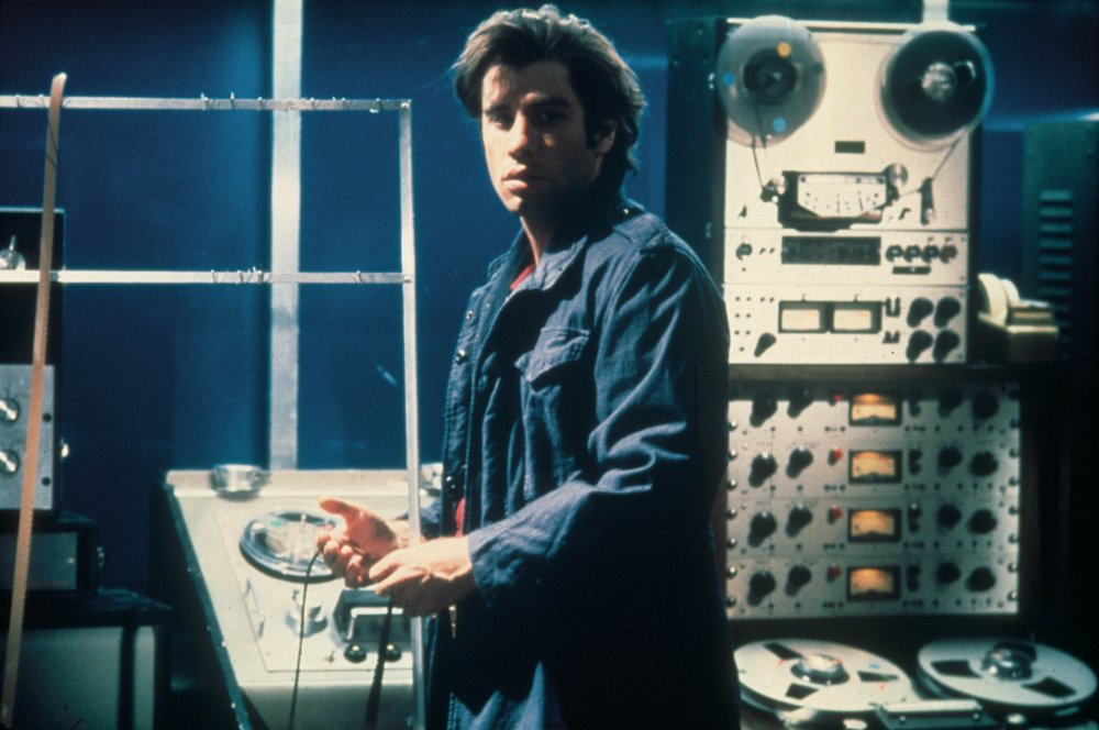 He plays a film sound man out of his depth in intrigue in Brian De Palma's 1981 thriller Blow Out
