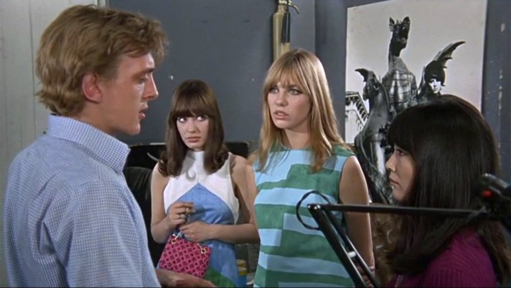 Hills with David Hemmings and Jane Birkin in Blowup (1966)