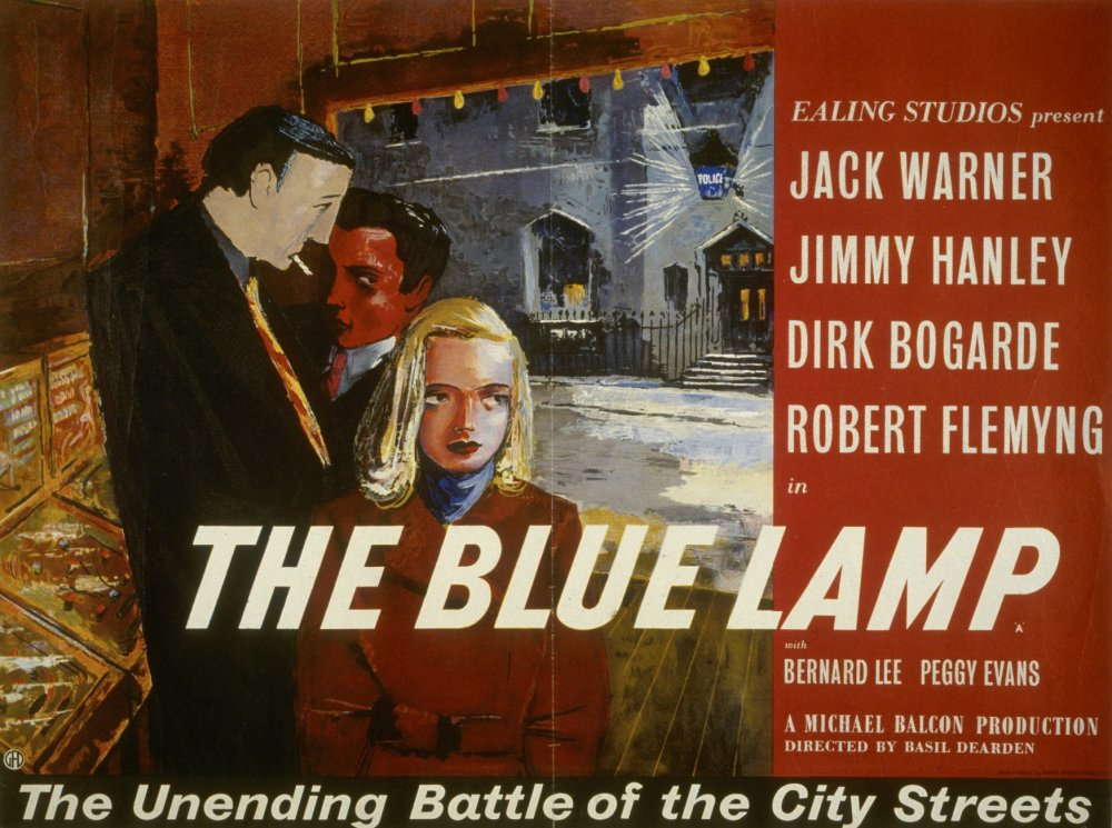 The Blue Lamp (1949) poster