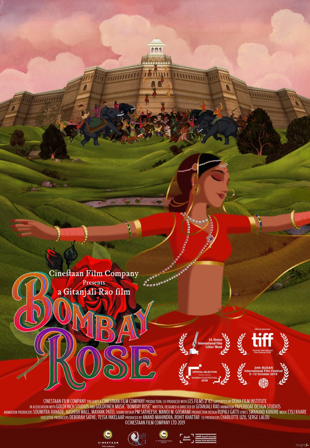 <strong>Bombay Rose</strong>  This animated feature is both epic and personal, and a glorious love letter to life and love in Mumbai