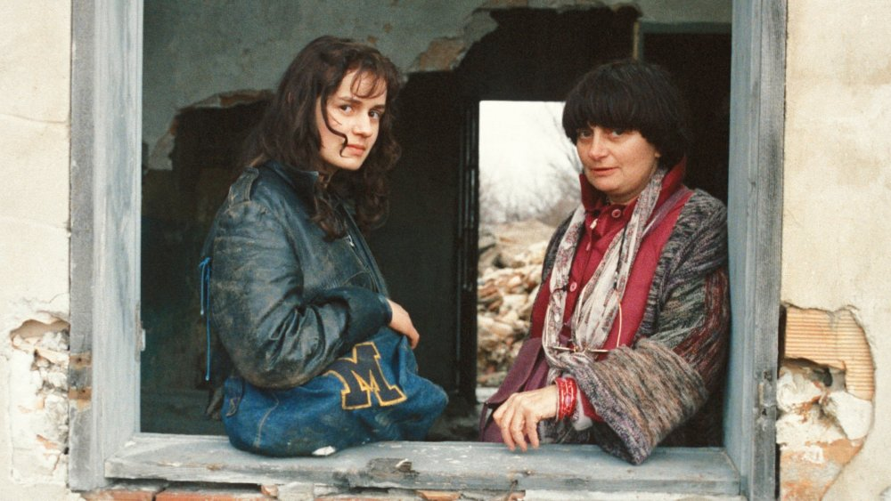 Sandrine Bonnaire and Agnès Varda on the location of Vagabond