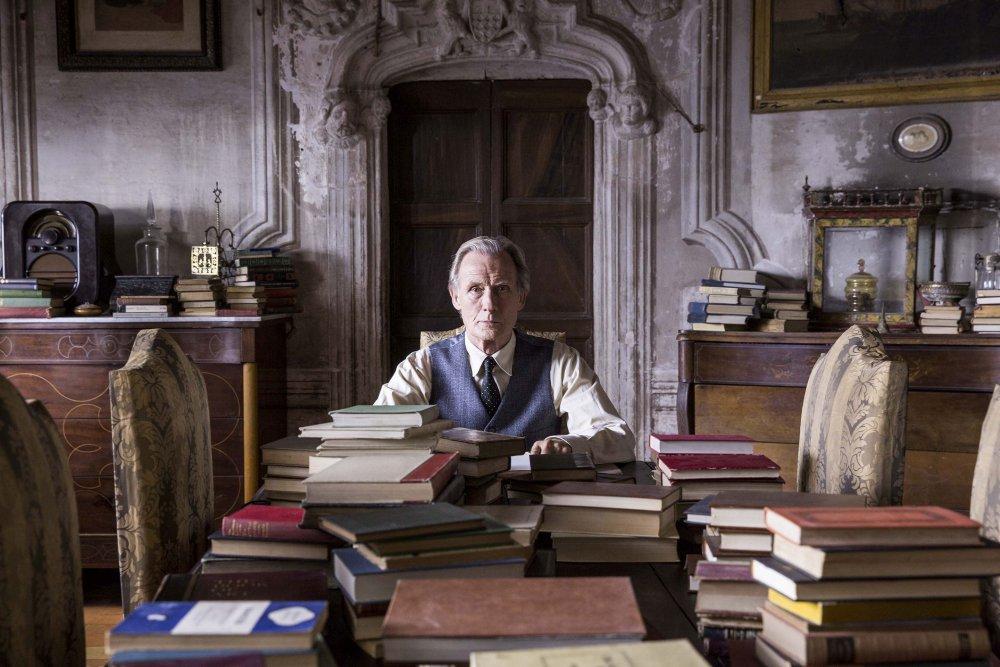 Bill Nighy as Edmund Brundish in The Bookshop