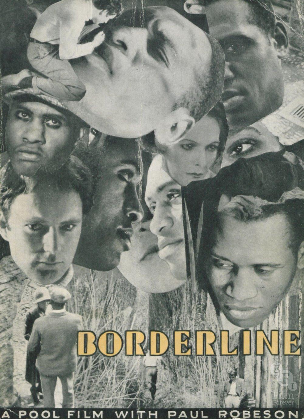 Borderline (1930) promotional booklet