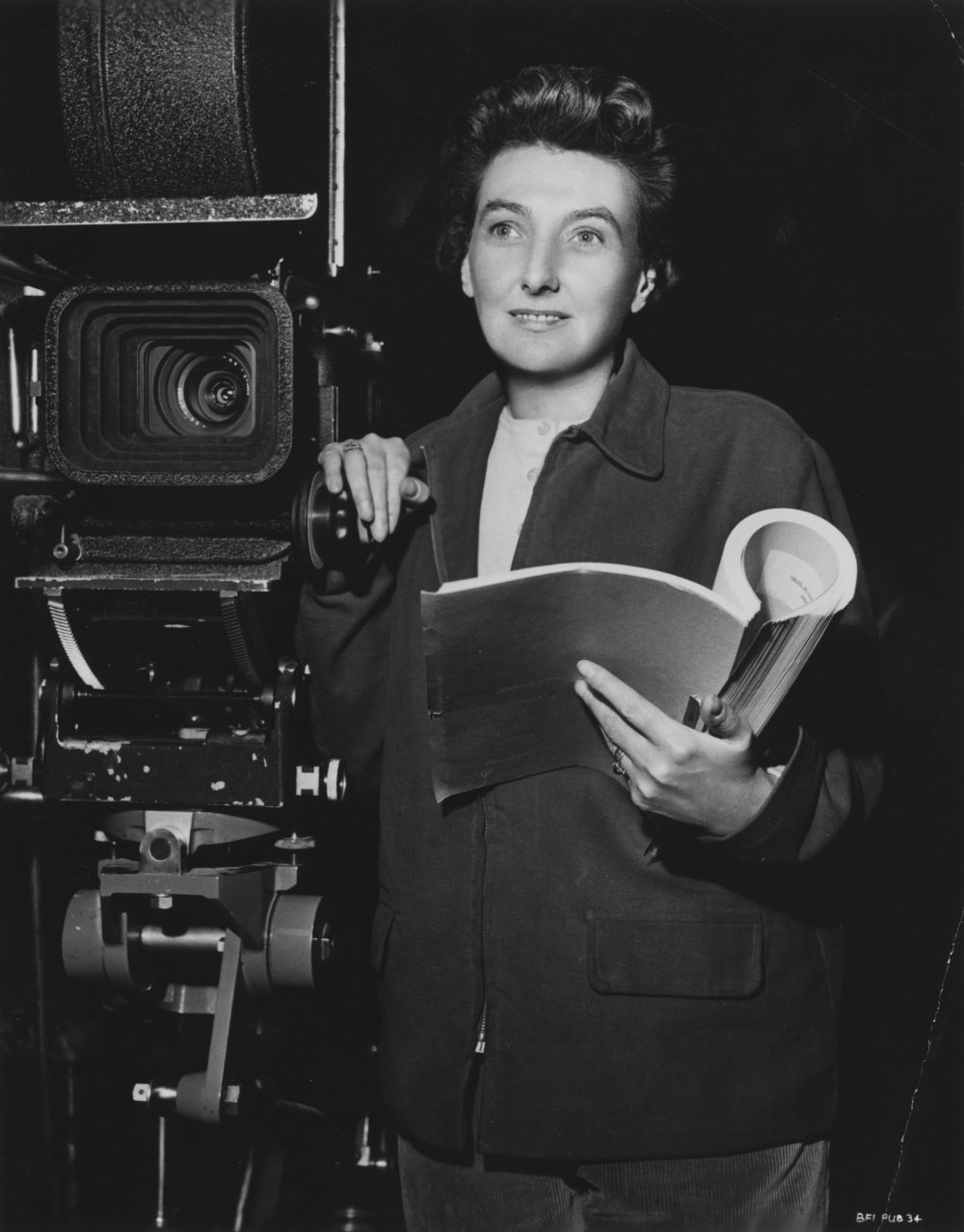 British screenwriter and director Muriel Box, who won an Oscar with her husband Sydney for their screenplay for The Seventh Veil in 1945