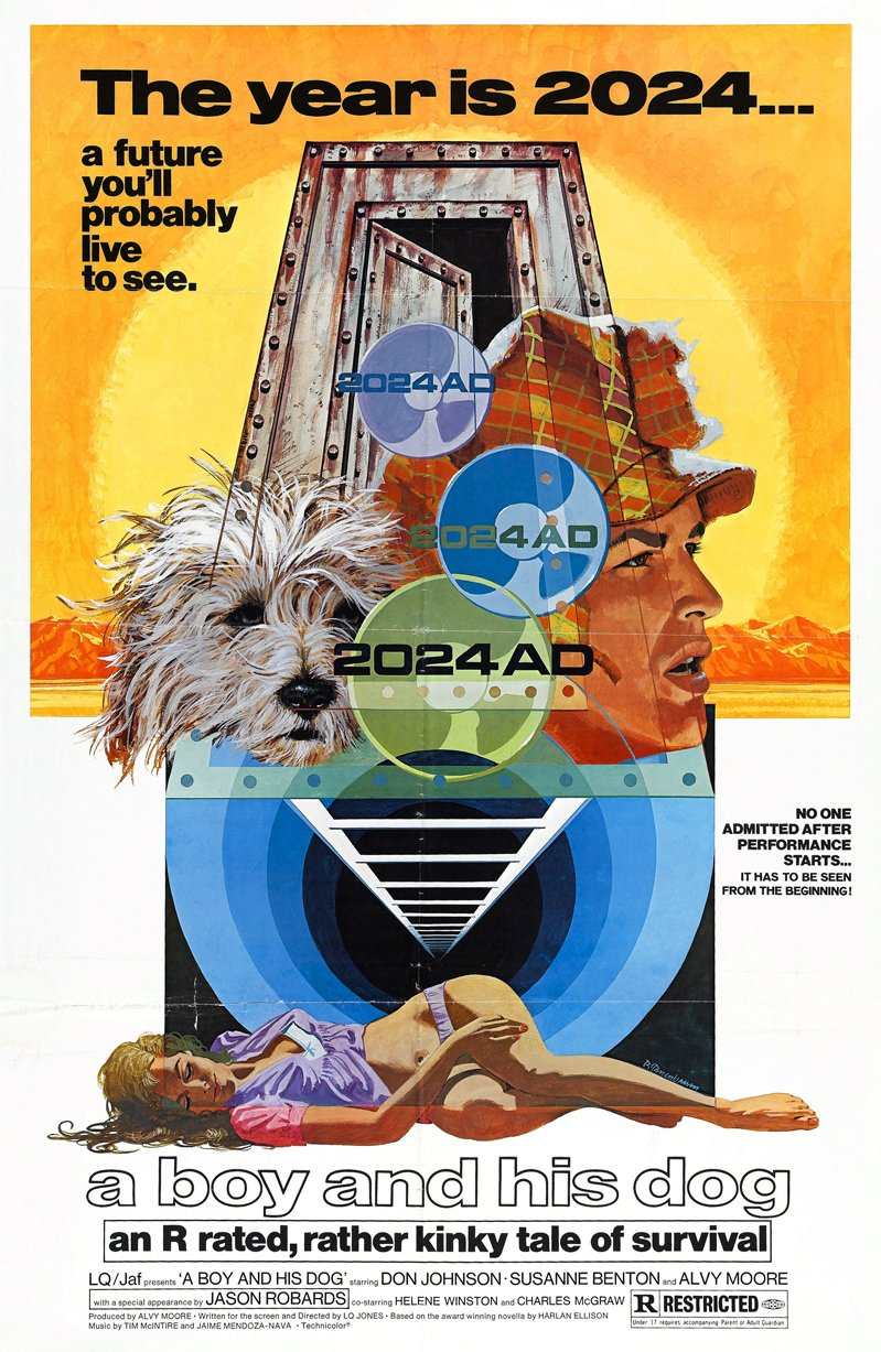 A Boy and His Dog (1975) poster