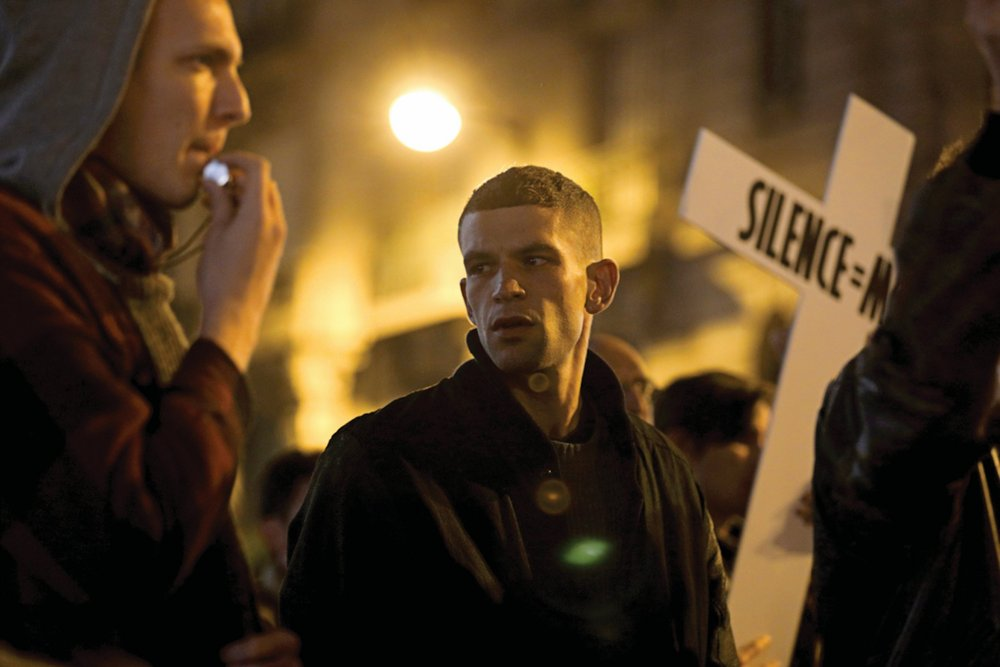 Arnaud Valois as Nathan in 120 Beats per Minute (BPM, 2017)