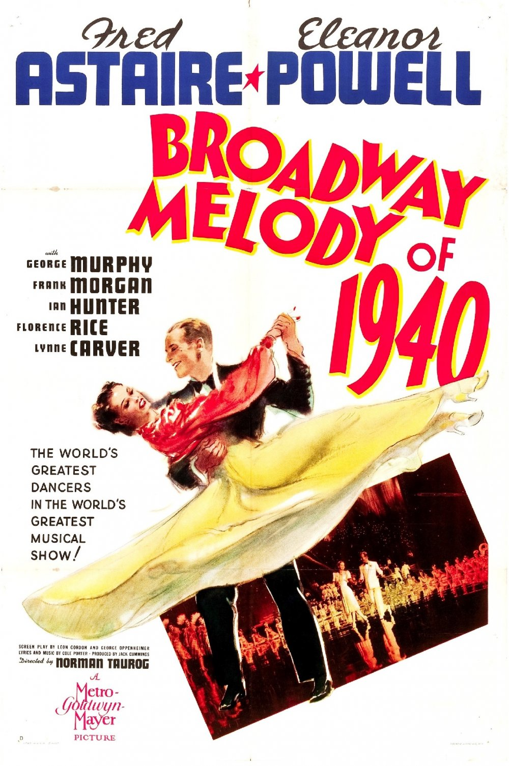 Broadway Melody of 1940 (1940) film poster