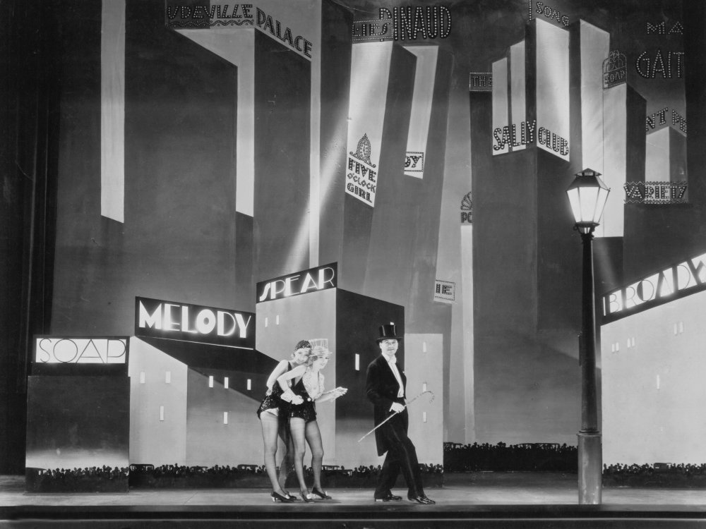 The Broadway Melody (1929), winner of the second ever Oscar for best picture