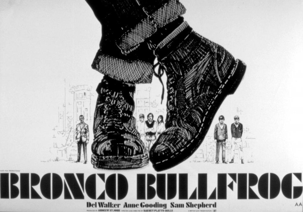 Bronco Bullfrog (1969) poster