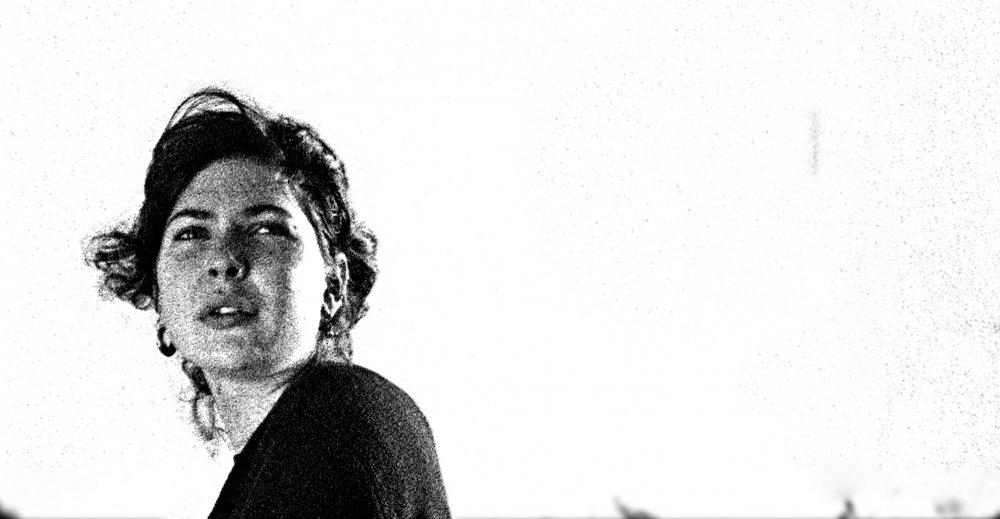 Mae Voogd as The Girlfriend in Marc Jenkin's short Bronco's House