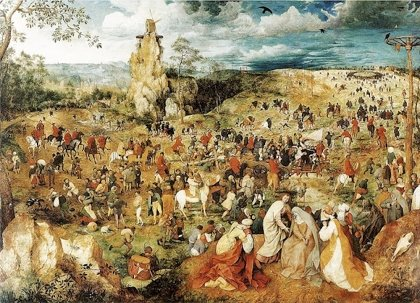 Bruegel's The Procession to Calvary