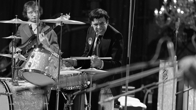 Buddy Rich playing on a 1987 ITV special