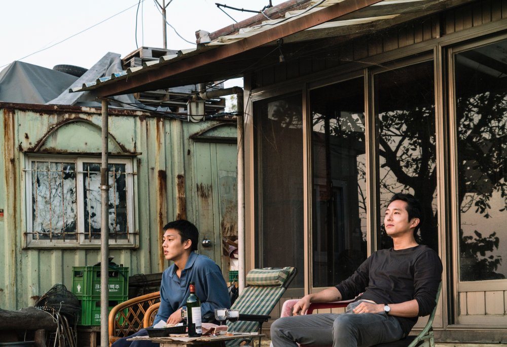 Yoo Ahin and Steven Yeun