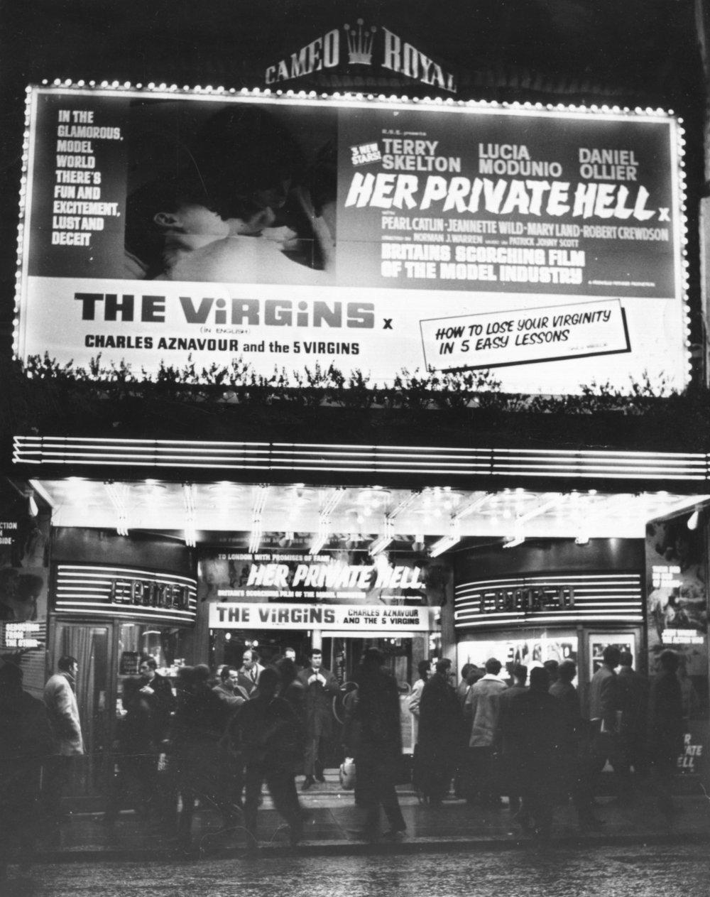 Cameo Royal Cinema, Great Windmill Street, London, 1967