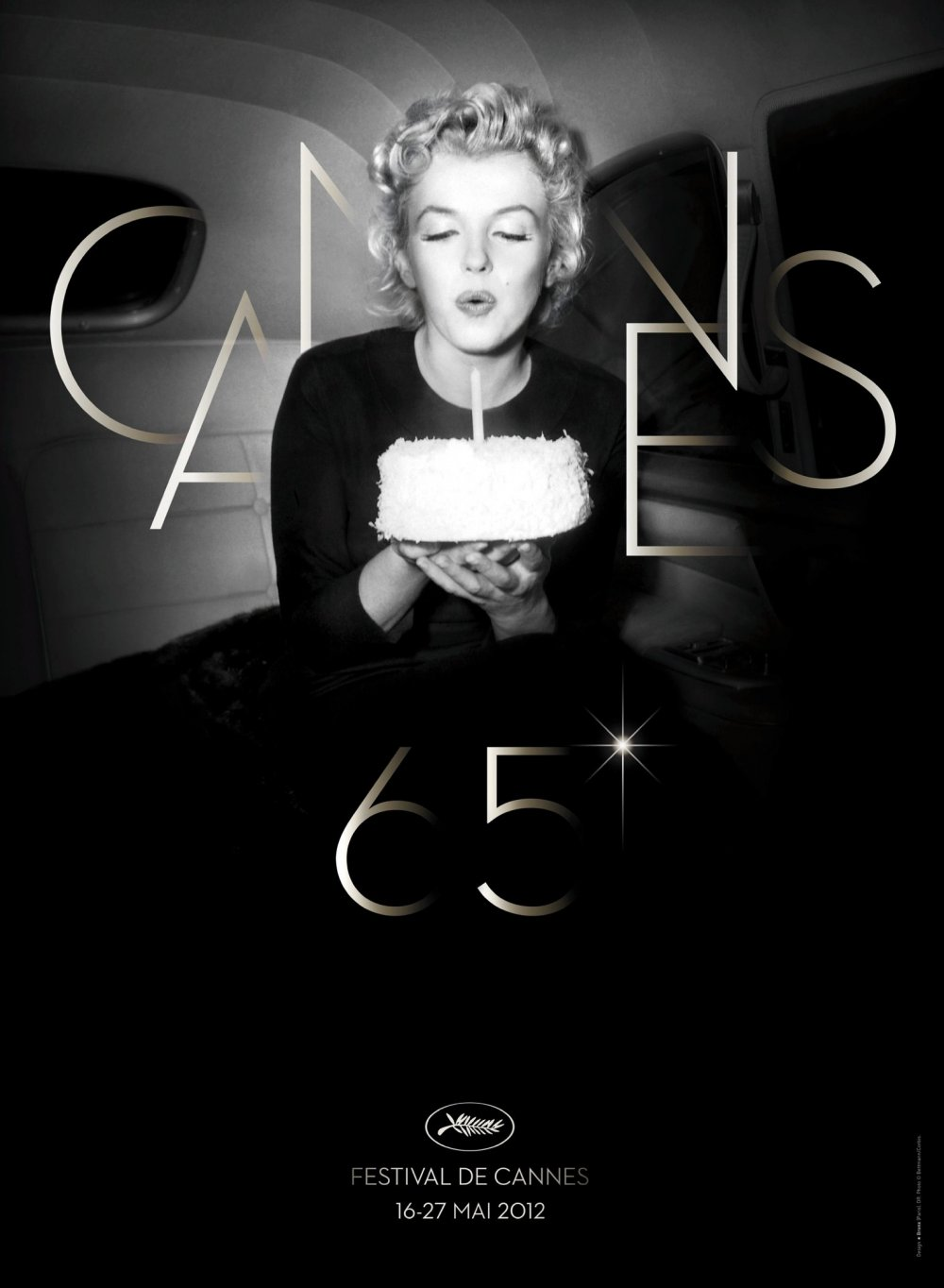 The Festival de Cannes's 2012 poster