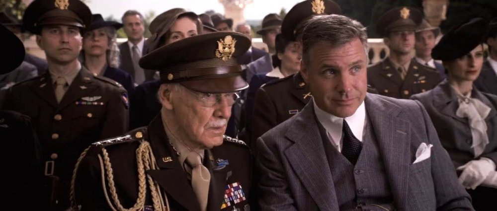 As an uncredited general in Captain America: The First Avenger (2011)