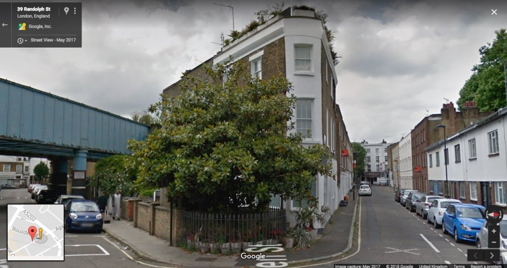 Career Girls (1997) location today in Google Street View