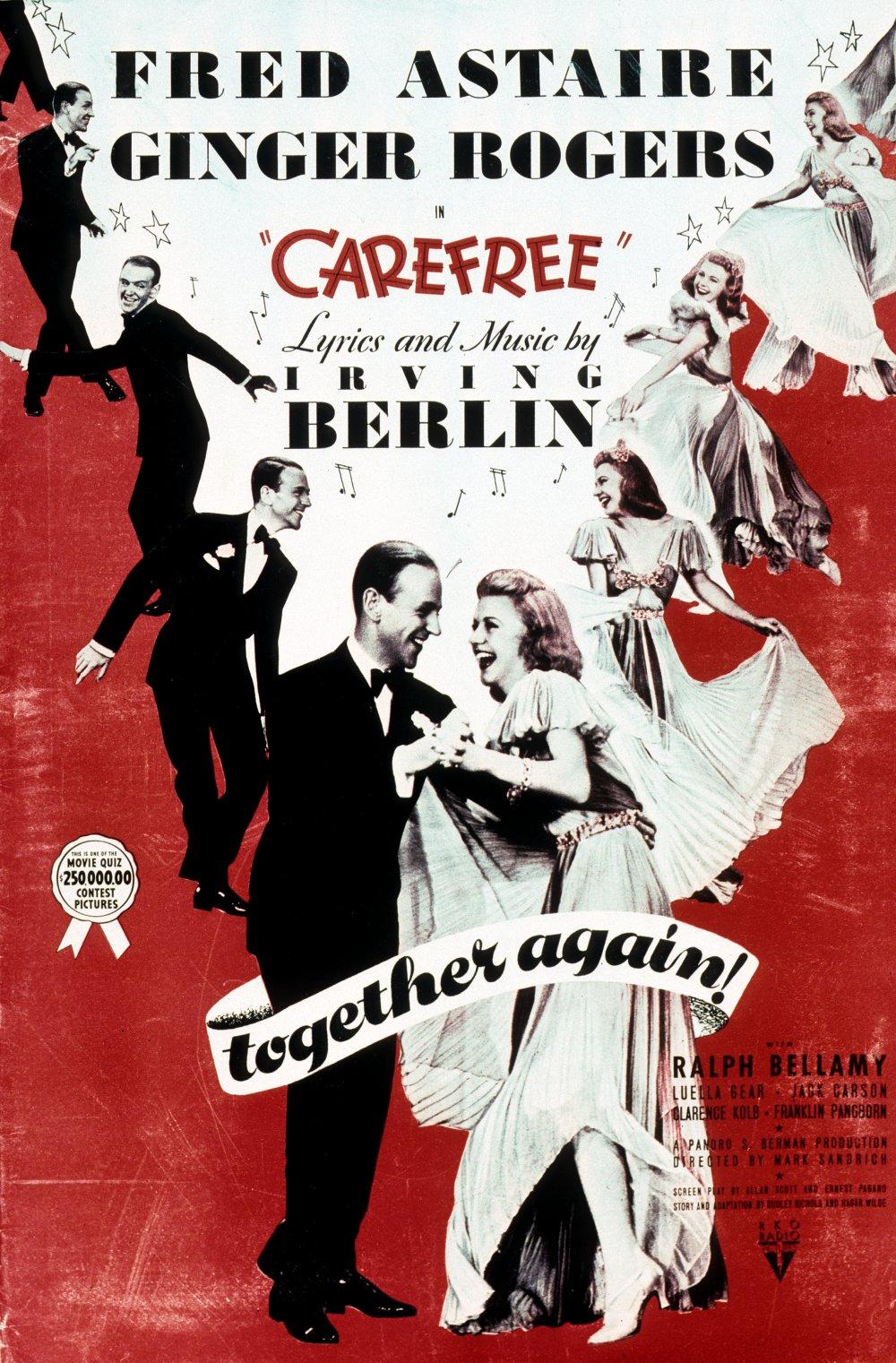 Carefree (1938) film poster