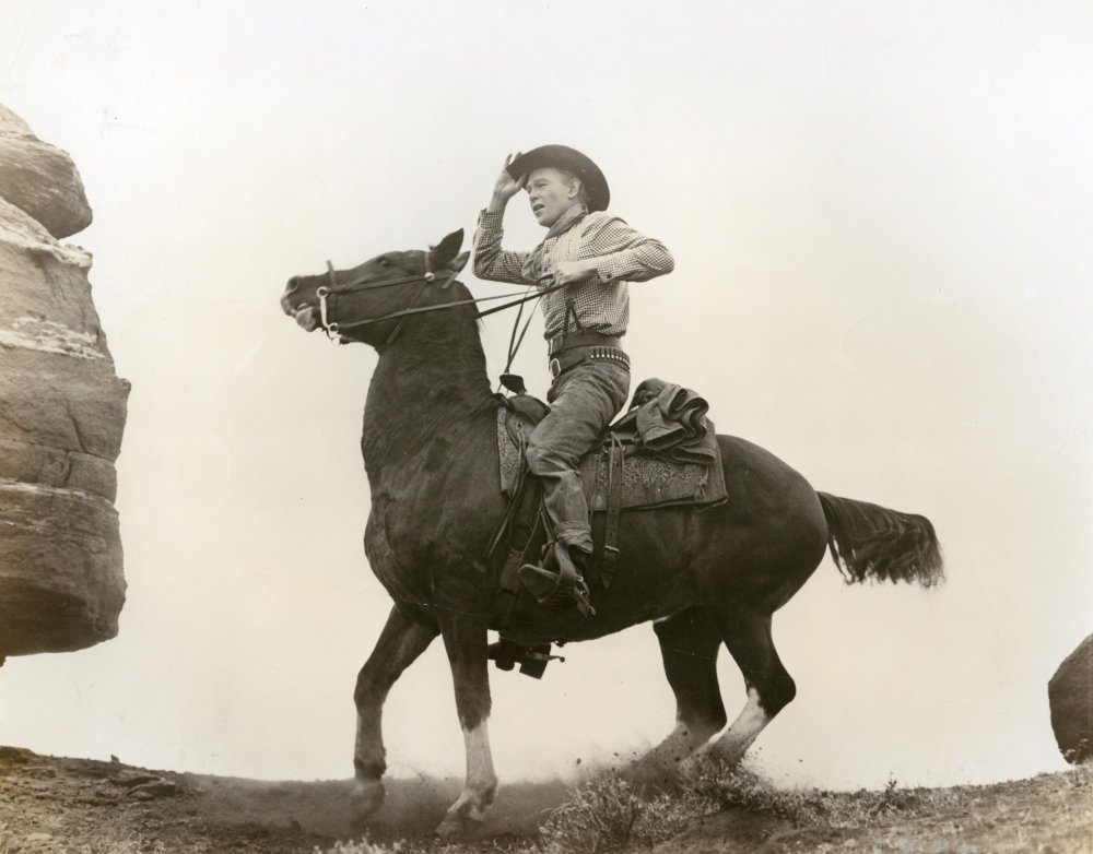 Harry Carey, Jr. in John Ford's 1950 Wagon Master.