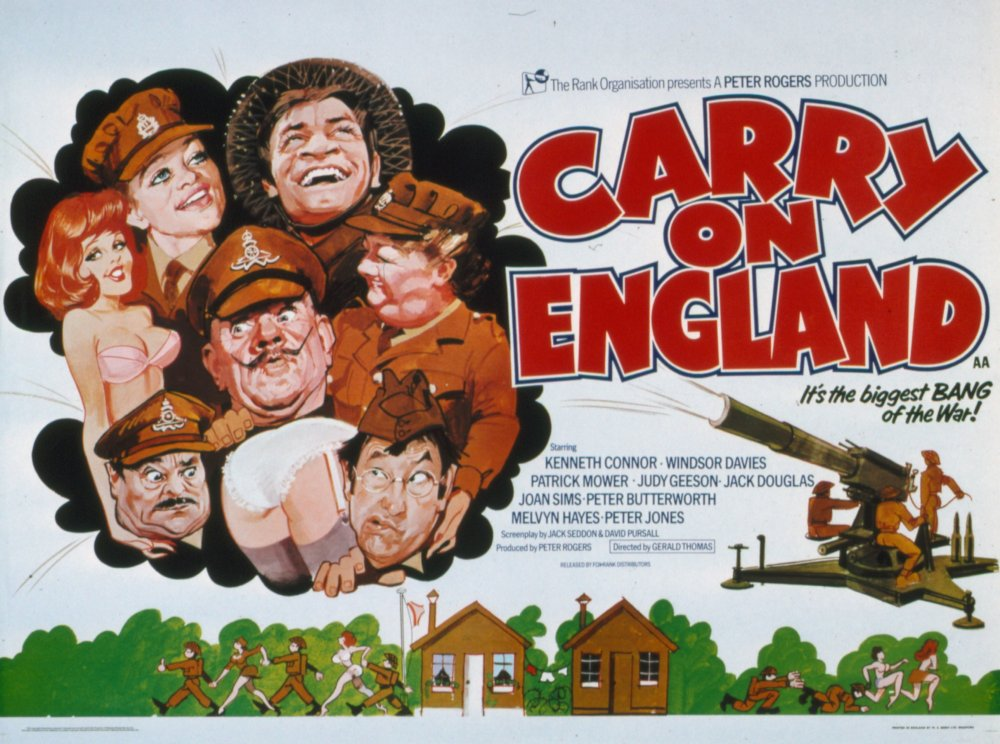 Carry On England (1976) poster