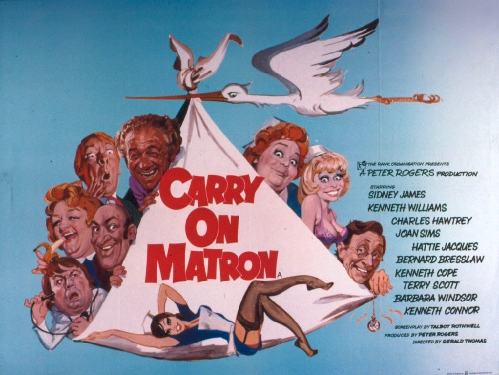 Carry On Matron (1972) poster
