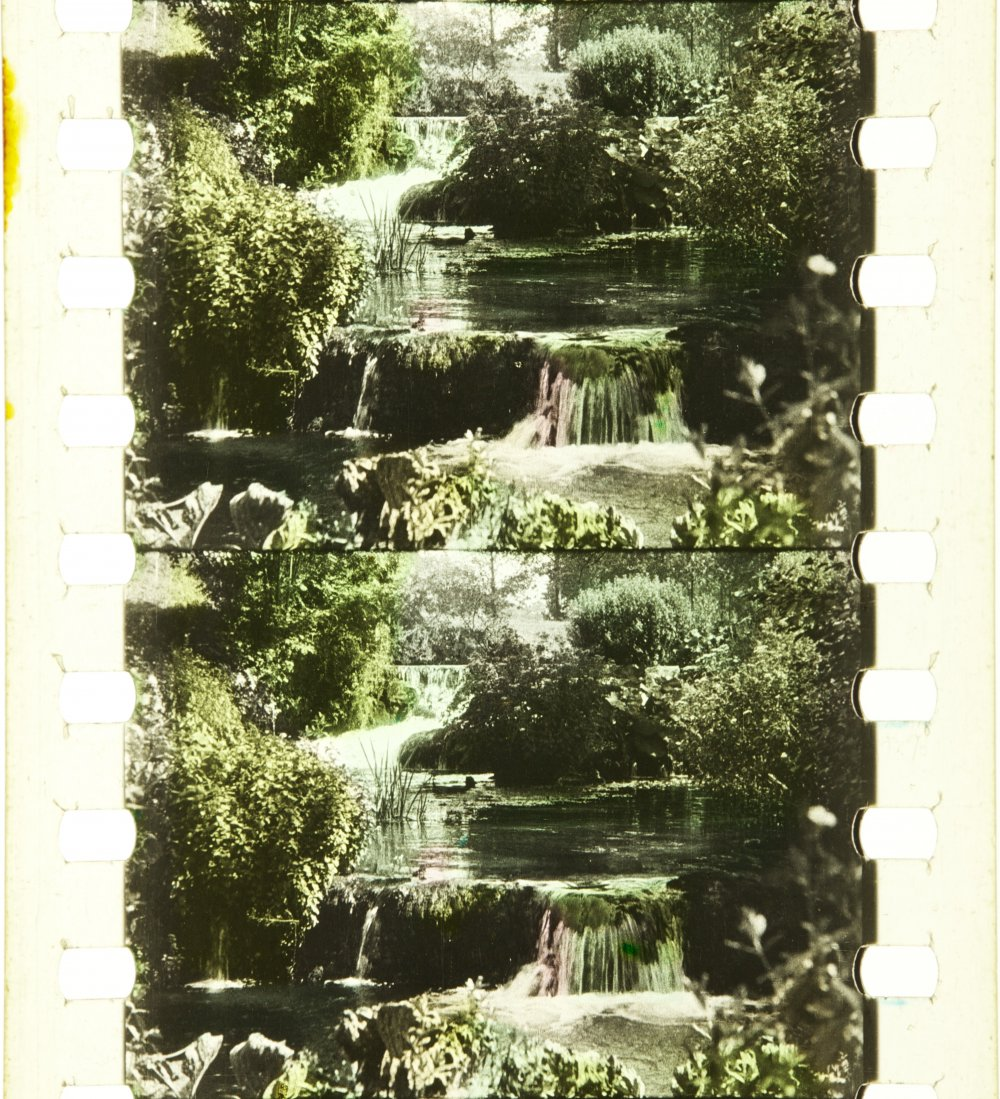 The Cascades of the Houyoux (Province of Liège, Belgium) (1911)