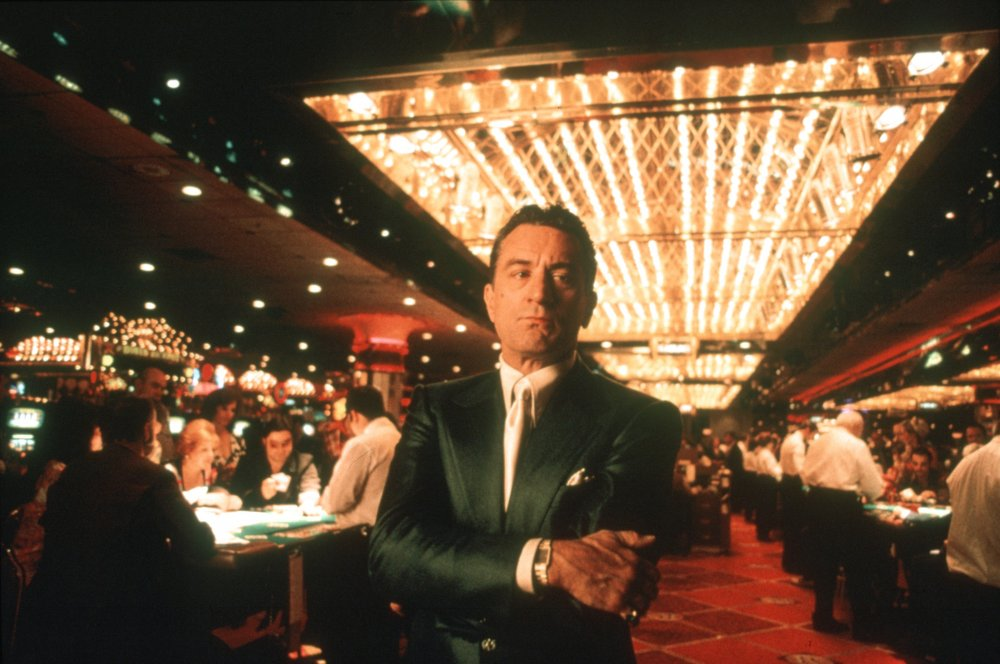 <strong>Casino (1995)</strong>  Martin Scorsese's crime epic — interestingly the second of Walker's choices set in a gambling joint