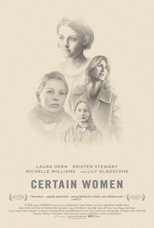 Certain Women (2016) poster
