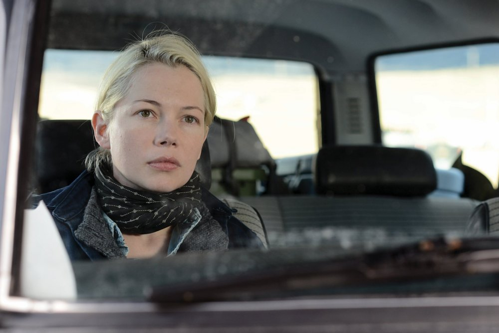 Michelle Williams as small-town Montana businesswoman Gina