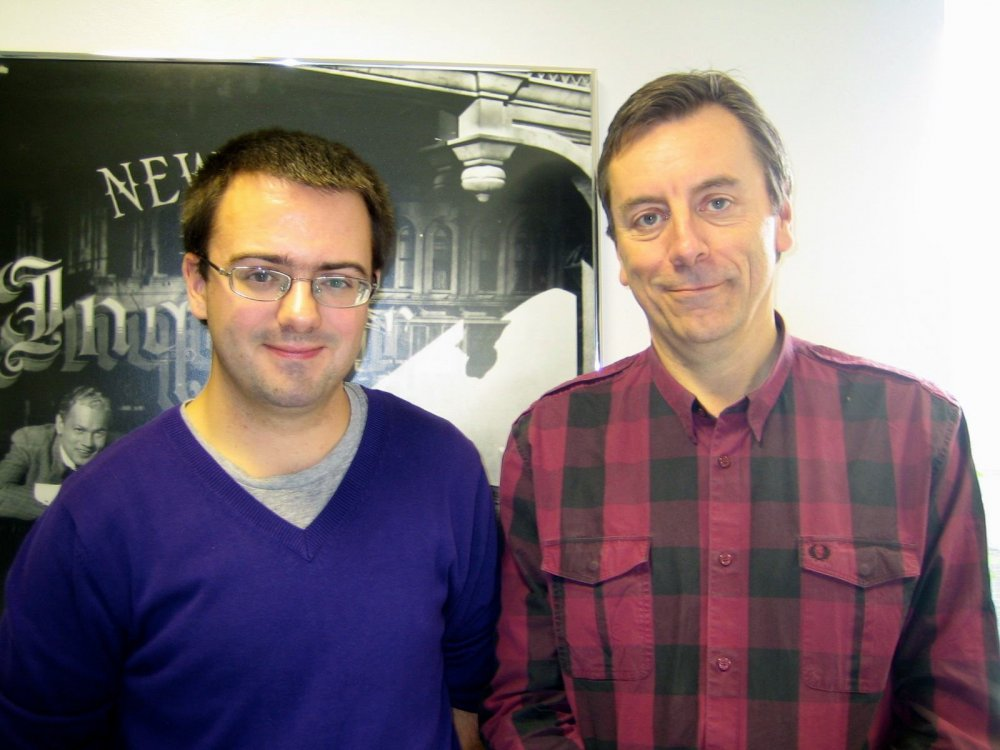 Jamie with Nick James