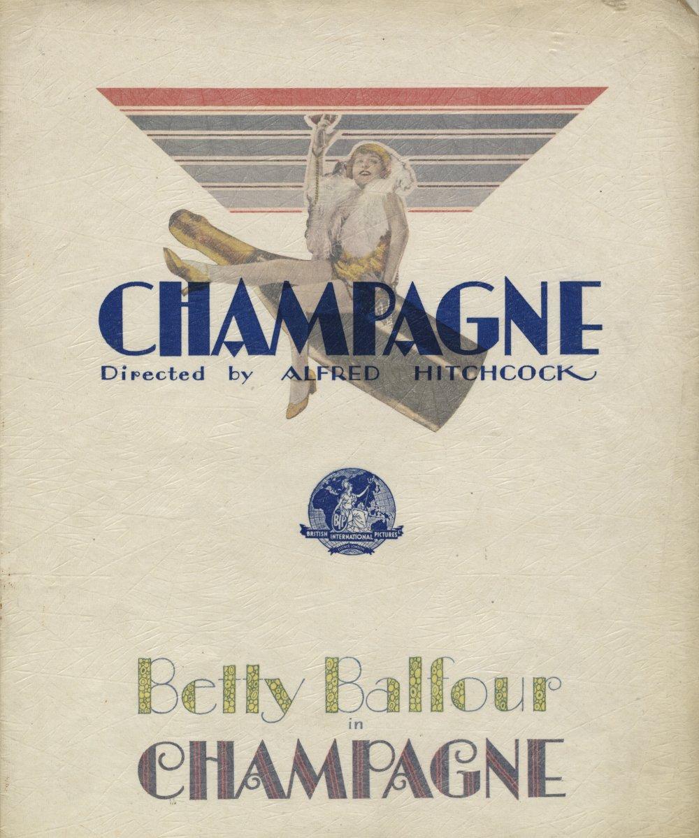 Champagne (1928) pressbook