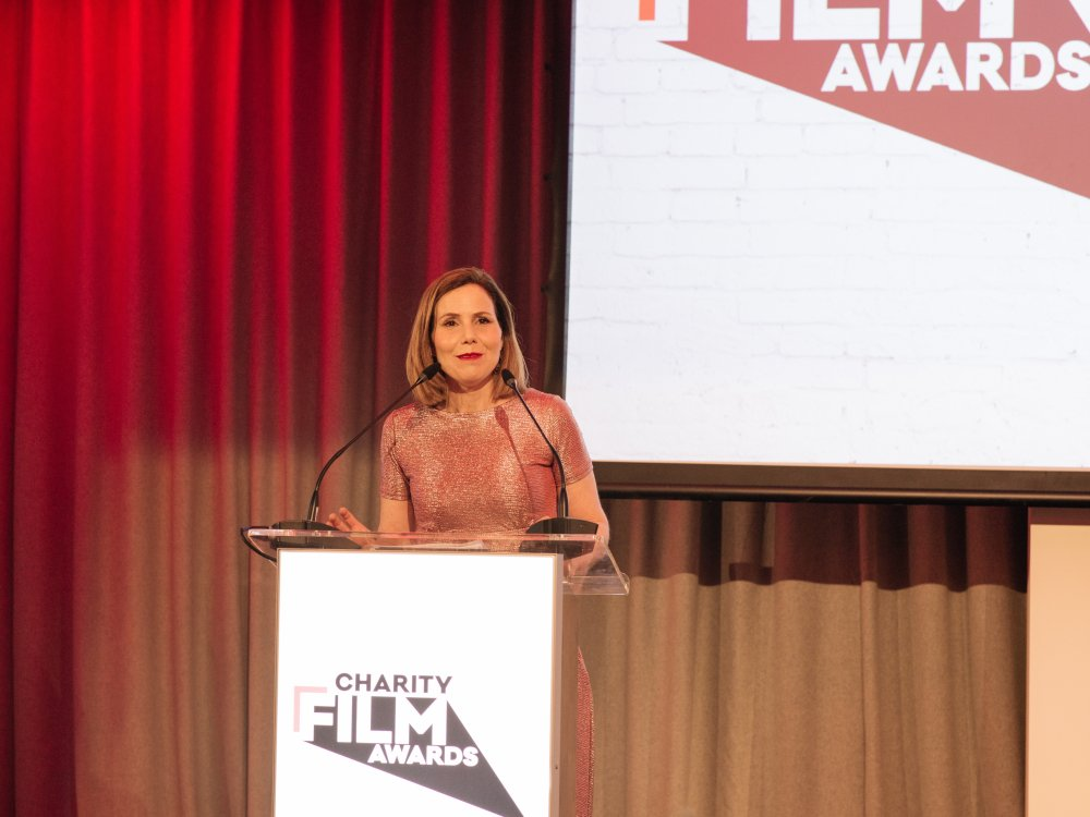 Actor Sally Phillips hosts the Charity Film Awards