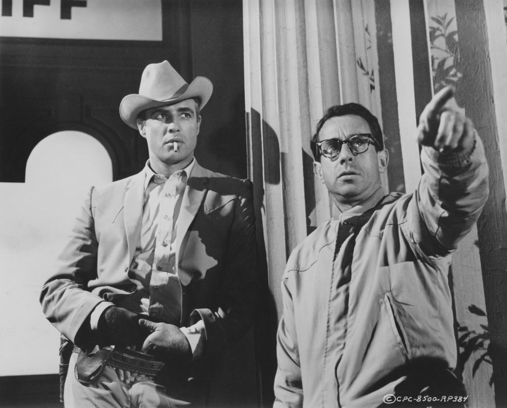 Directing Marlon Brando in The Chase (1965)