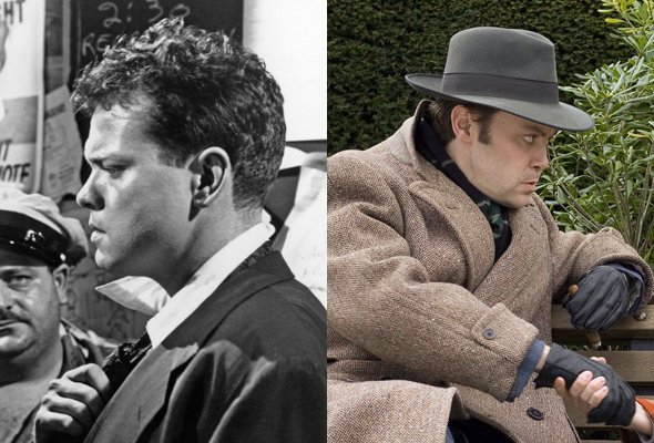Orson Welles, as played by Christian McKay in Me and Orson Welles (2009)