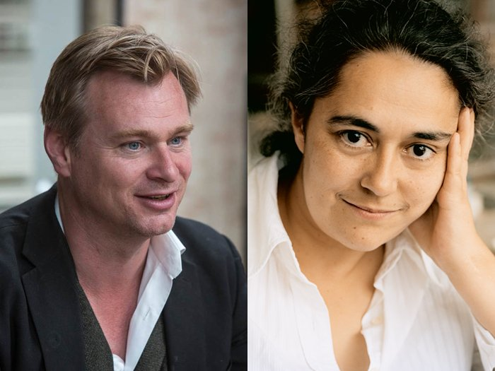 Christopher Nolan and Tacita Dean