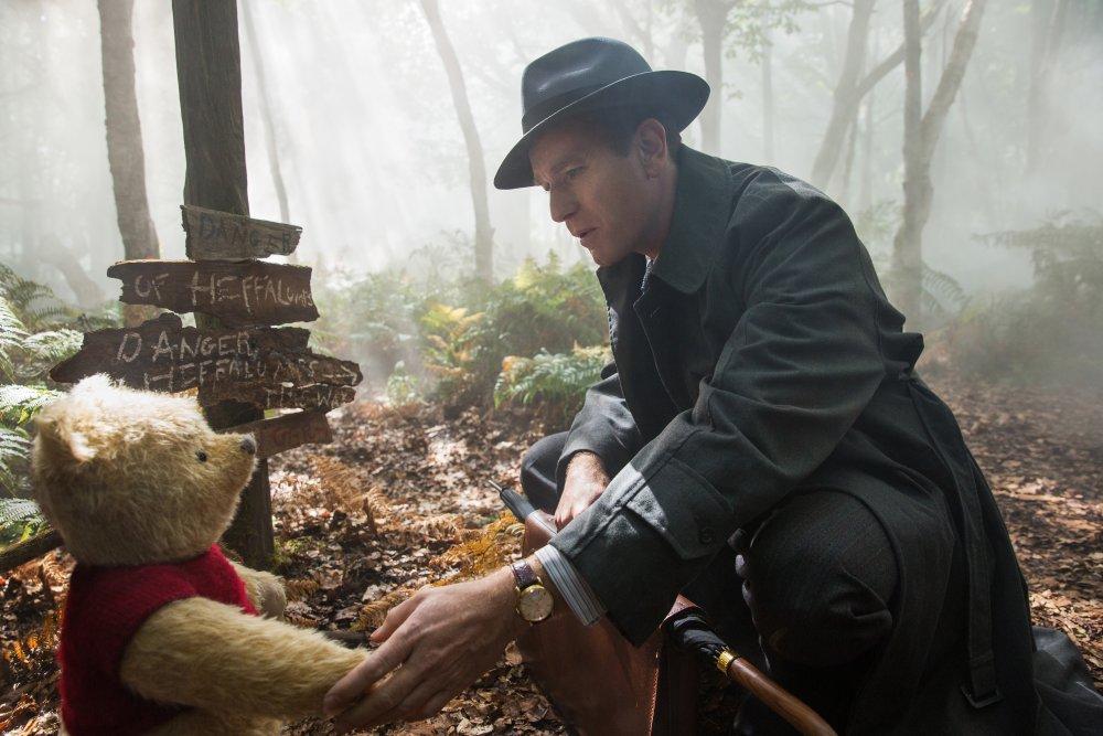 Ewan McGregor as the titular Christopher Robin