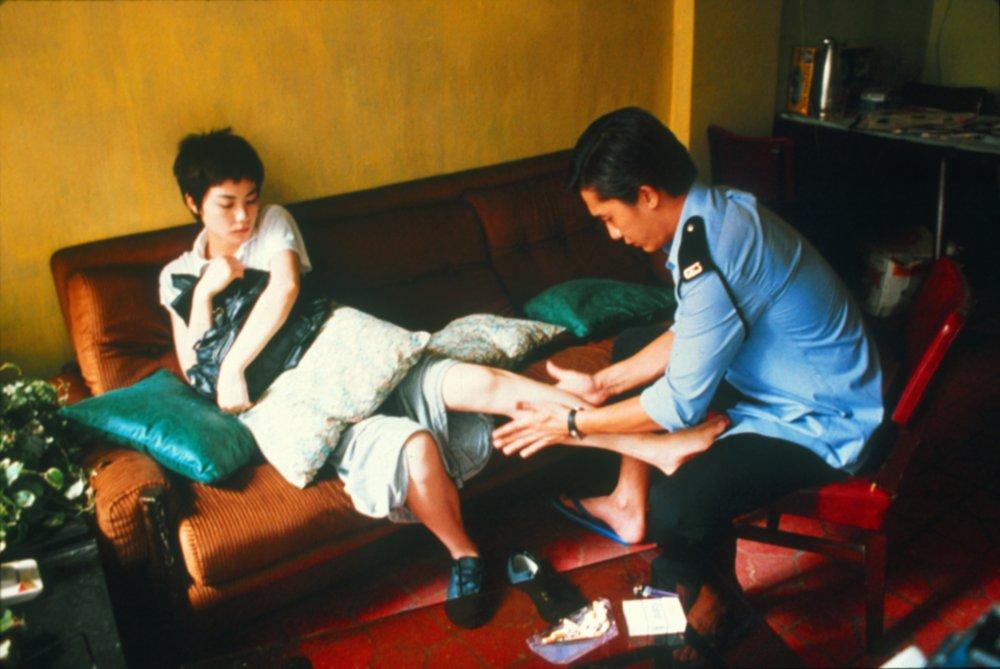 Faye Wong and Tony Leung in Chungking Express