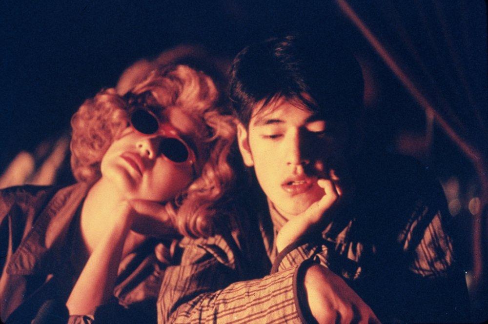 Takeshi Kaneshiro and Brigitte Lin in Chungking Express