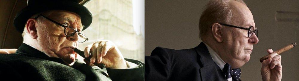 Churchill (2017) and Darkest Hour (2017)