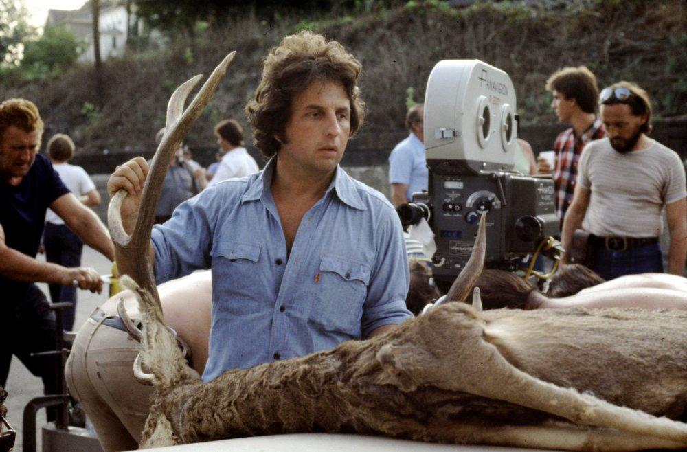 Michael Cimino filming The Deer Hunter (1978)