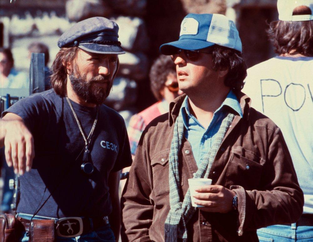 Michael Cimino filming Heaven's Gate (1980)