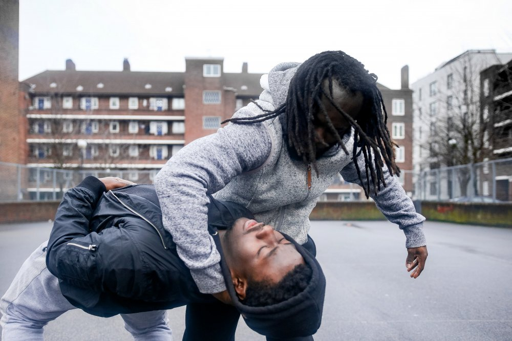 Lanre Malaolu's short The Circle distills the emotions of two Hackney brothers into dance