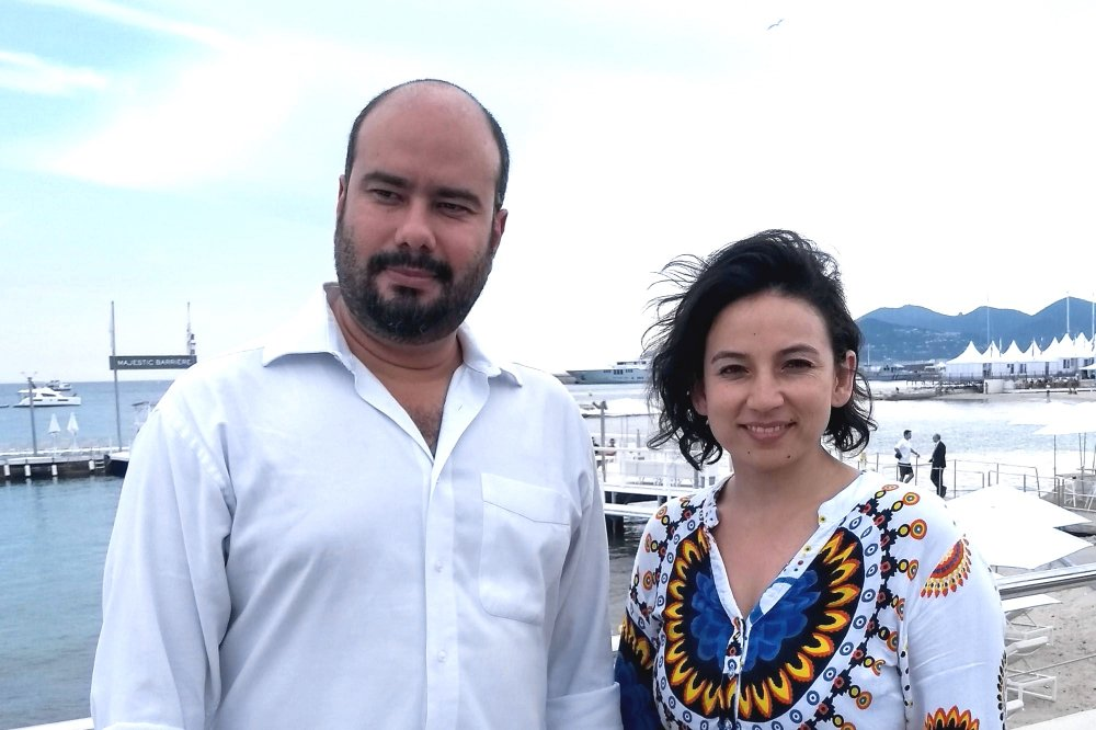 Ciro Guerra and Cristina Gallego at Cannes