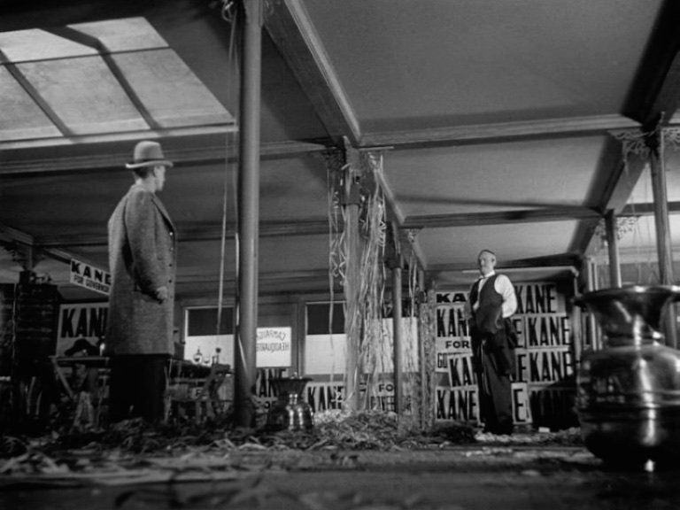 """citizen kane shot composition I have analyzed it a shot at a time with more than 30 groups """"citizen kane"""" is more than a great so that composition and movement determined where the eye."""